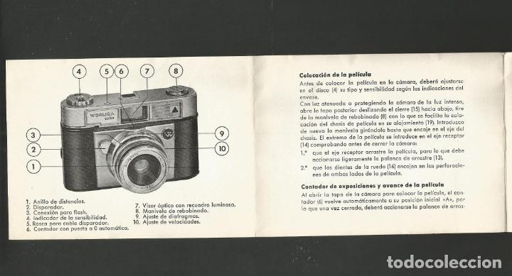 Cámara de fotos: WERLISA COLOR-INSTRUCCIONES CAMARA FOTOGRAFICA-VER FOTOS-(57.751) - Foto 3 - 155307718