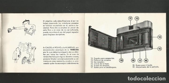 Cámara de fotos: WERLISA COLOR-INSTRUCCIONES CAMARA FOTOGRAFICA-VER FOTOS-(57.751) - Foto 7 - 155307718