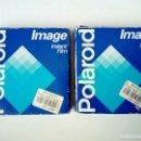 Cámara de fotos: (CADUCADO 04/94) 2 X POLAROID IMAGE INSTANT FILM (10 COLOUR PHOTOS 10X10CM) PELÍCULA CADUCADA 1994. Lote 146711298
