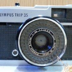 Cámara de fotos: CÁMARA VIEJA DE FOTOS. MARCA OLIMPUS TRIP 35. Lote 155649642