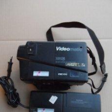 Cámara de fotos: VIDEO CAMARA AMSTRAD VIDEOMATIC VMC 100 AÑO 1988. Lote 155672786