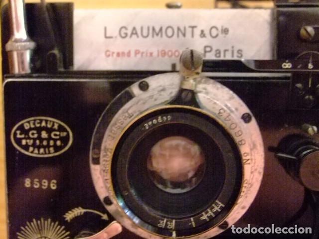 Cámara de fotos: Maquina de Fotos ESTEREOSCOPICA - LEON GAUMONT & cia PARIS - Foto 3 - 155748762