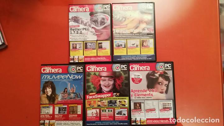 Cámara de fotos: DIGITAL CAMERA - PC CD-ROM - 37 NUMEROS - Foto 5 - 155858638