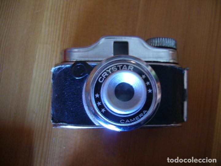 Cámara de fotos: MINI CAMARA CRYSTAR con FUNDA y caja KIKUFILM con un CARRETE - Foto 2 - 155917706