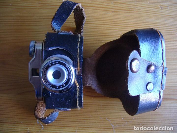 Cámara de fotos: MINI CAMARA CRYSTAR con FUNDA y caja KIKUFILM con un CARRETE - Foto 9 - 155917706