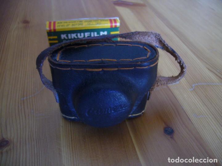 Cámara de fotos: MINI CAMARA CRYSTAR con FUNDA y caja KIKUFILM con un CARRETE - Foto 12 - 155917706