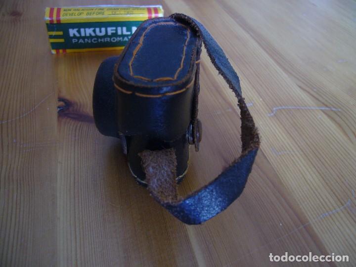 Cámara de fotos: MINI CAMARA CRYSTAR con FUNDA y caja KIKUFILM con un CARRETE - Foto 13 - 155917706