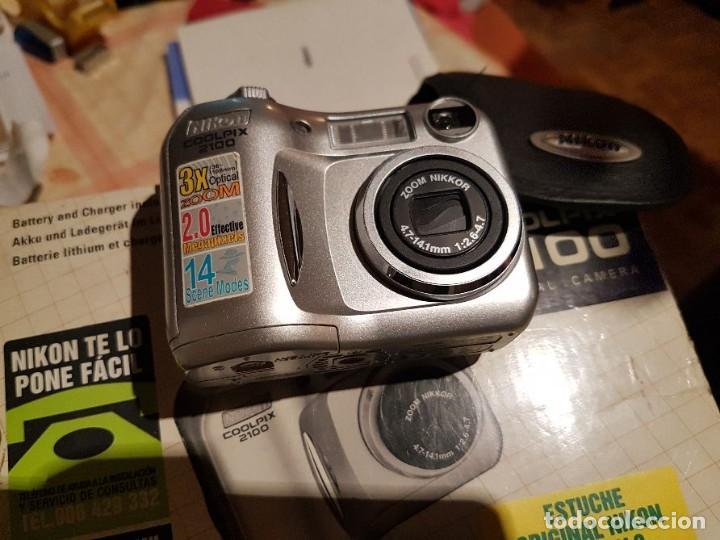 CÁMARA DE FOTOS COMPACTA DIGITAL NIKON (Cámaras Fotográficas - Otras)