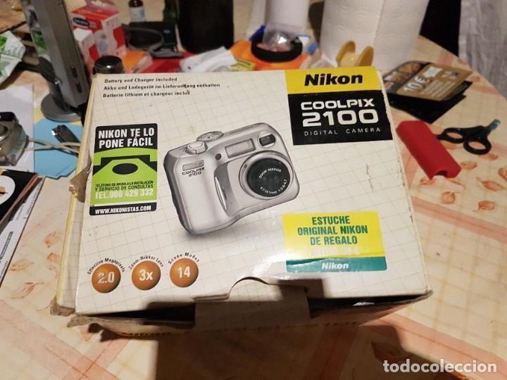Cámara de fotos: Cámara de fotos compacta digital NIKON - Foto 2 - 156804130
