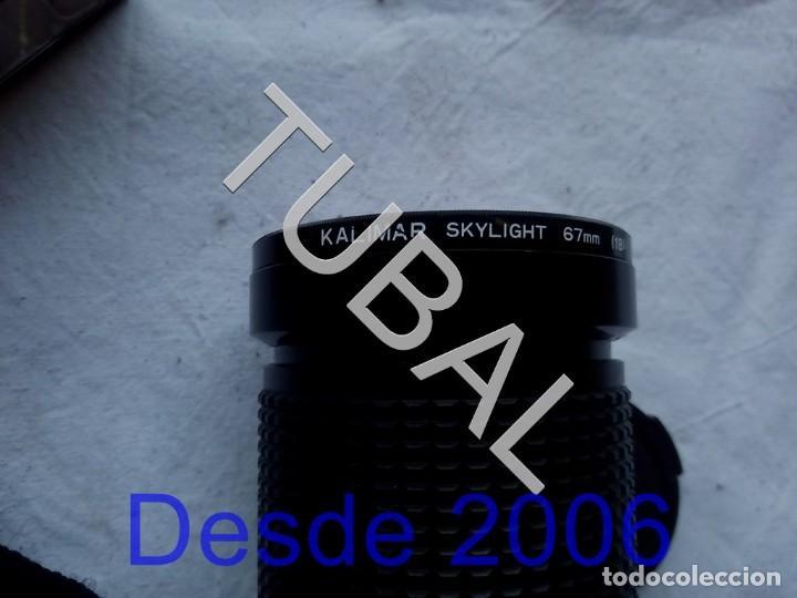 Cámara de fotos: TUBAL NIKON F-301 CAMARA Y COMPLEMENTOS FUNCIONANDO `+ MALETIN + TODO LO QUE VES EN LAS FOTOS - Foto 4 - 157083462