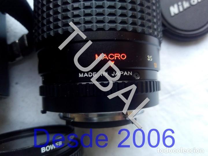 Cámara de fotos: TUBAL NIKON F-301 CAMARA Y COMPLEMENTOS FUNCIONANDO `+ MALETIN + TODO LO QUE VES EN LAS FOTOS - Foto 6 - 157083462