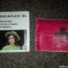 Cámara de fotos: MANUAL INSTUCCIONES CAMARA LEICA CL ESPAÑOL Y GUIA LEICAFLEX SL.. Lote 157131246