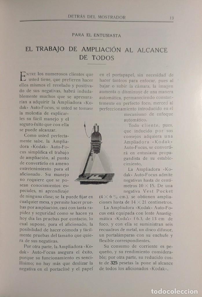 Cámara de fotos: DETRÁS DEL MOSTRADOR : REVISTA … , AÑO VI, NÚM. 33 (JUNIO 1924). MADRID : KODAK, S.A., 1924. - Foto 2 - 157843806