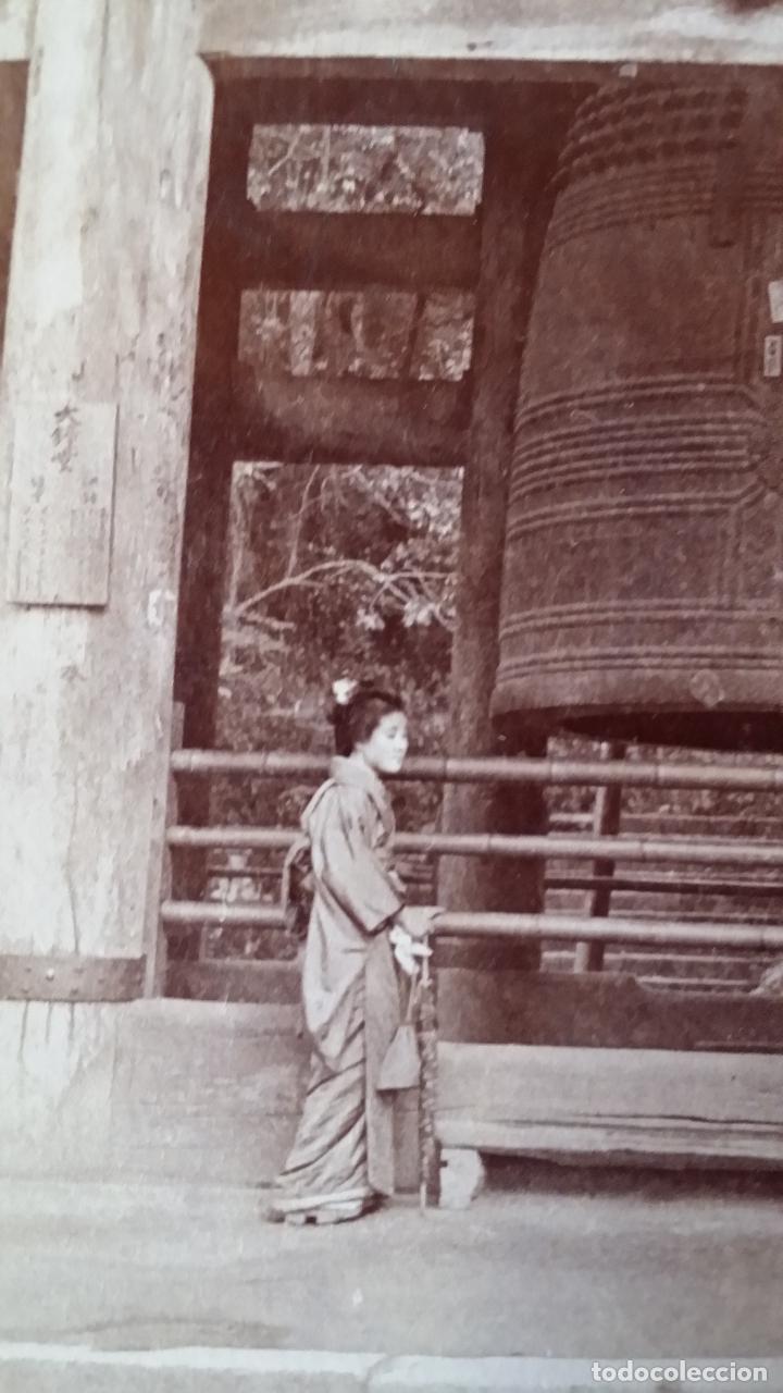 Cámara de fotos: Placa estereoscopica KYOTO, 1904 - Foto 2 - 158011278