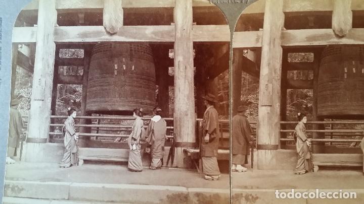 Cámara de fotos: Placa estereoscopica KYOTO, 1904 - Foto 7 - 158011278