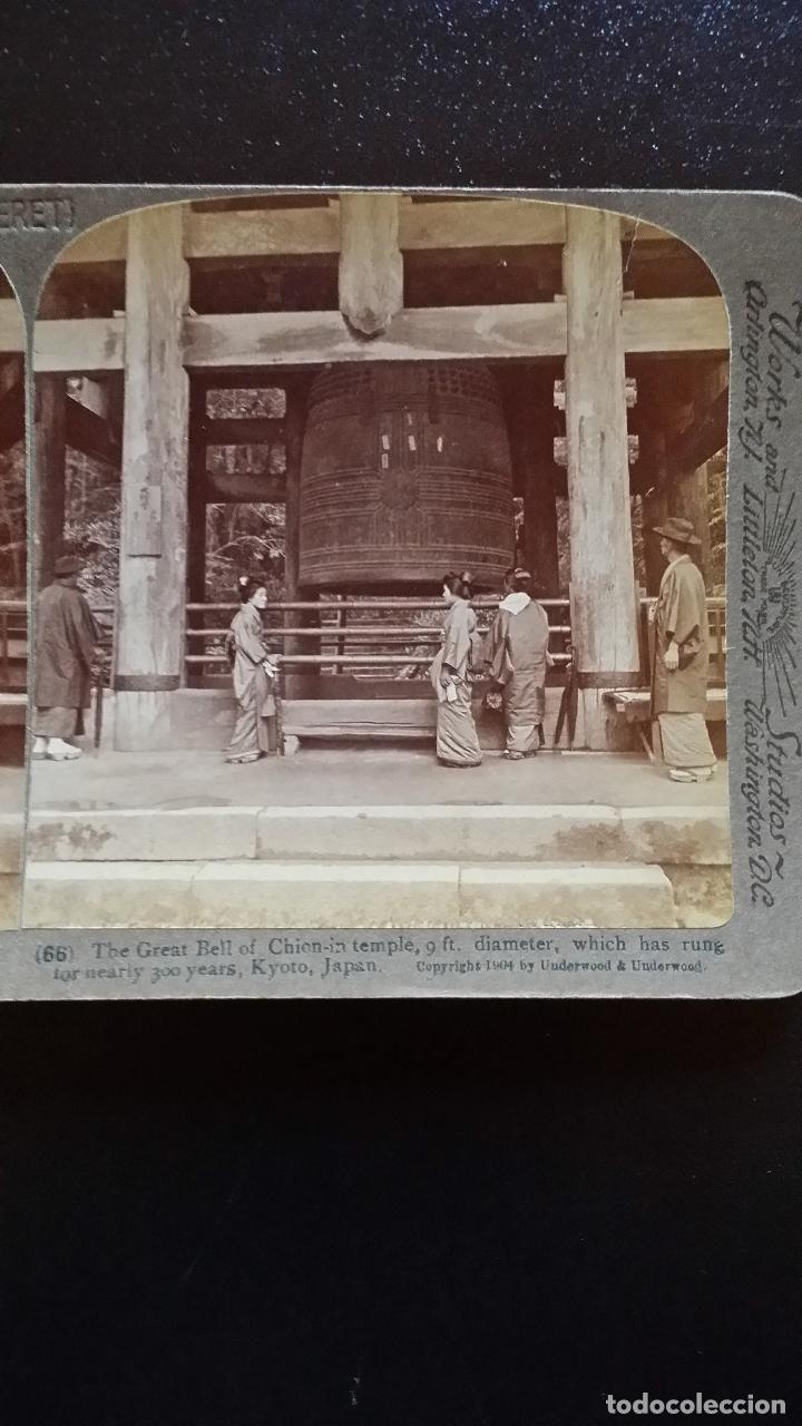 Cámara de fotos: Placa estereoscopica KYOTO, 1904 - Foto 10 - 158011278