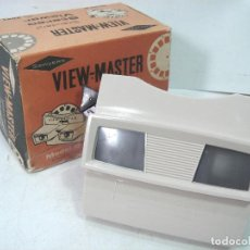 Cámara de fotos: VISOR ESTEREOSCOPICO 3D -VIEW MASTER MOD: STANDARD G 2041+CAJA-BELGIUM AÑOS 60 - SAWYERS STEREO-. Lote 158153398