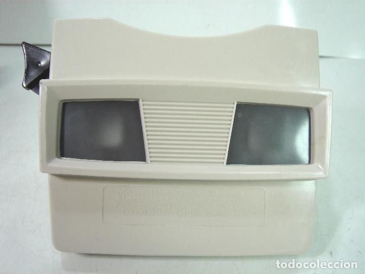 Cámara de fotos: VISOR ESTEREOSCOPICO 3D -VIEW MASTER MOD: STANDARD G 2041+CAJA-BELGIUM AÑOS 60 - SAWYERS STEREO- - Foto 2 - 158153398