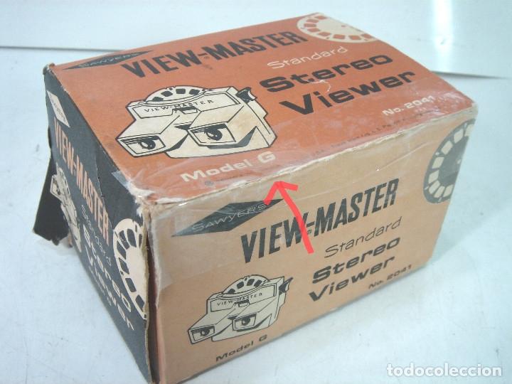 Cámara de fotos: VISOR ESTEREOSCOPICO 3D -VIEW MASTER MOD: STANDARD G 2041+CAJA-BELGIUM AÑOS 60 - SAWYERS STEREO- - Foto 7 - 158153398
