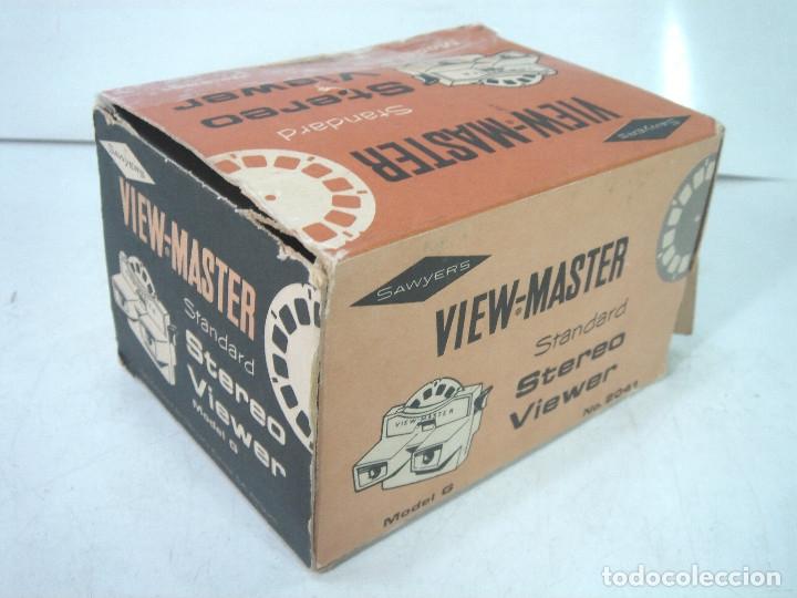 Cámara de fotos: VISOR ESTEREOSCOPICO 3D -VIEW MASTER MOD: STANDARD G 2041+CAJA-BELGIUM AÑOS 60 - SAWYERS STEREO- - Foto 6 - 158153398