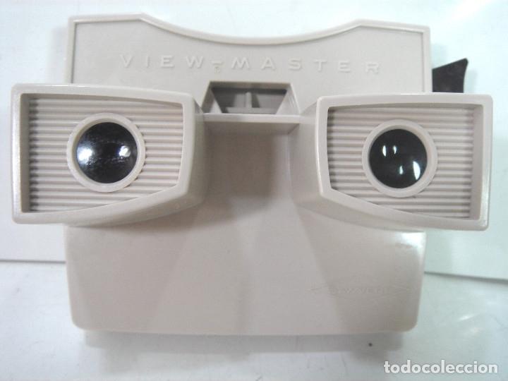 Cámara de fotos: VISOR ESTEREOSCOPICO 3D -VIEW MASTER MOD: STANDARD G 2041+CAJA-BELGIUM AÑOS 60 - SAWYERS STEREO- - Foto 5 - 158153398