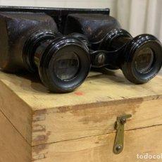 Cámara de fotos: VISOR MAS CAJA CON 66 IMÁGENES ESTEREOSCÓPICAS. Lote 158648494