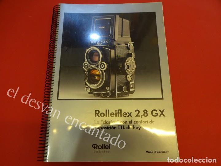 Cámara de fotos: Lote diversos catálogos ROLLEIFLEX. VER FOTOS - Foto 2 - 159076778