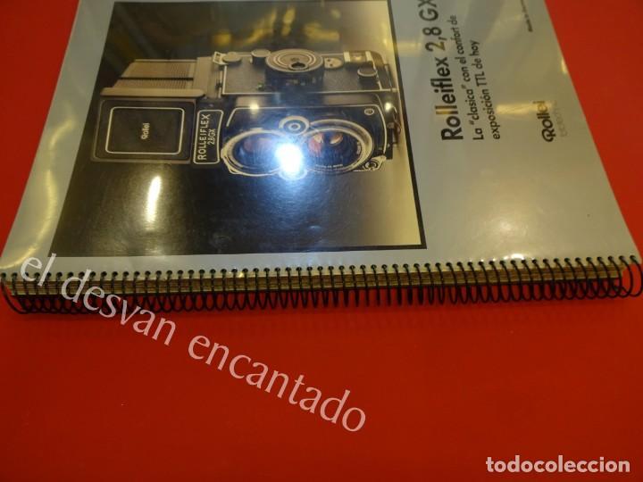 Cámara de fotos: Lote diversos catálogos ROLLEIFLEX. VER FOTOS - Foto 3 - 159076778