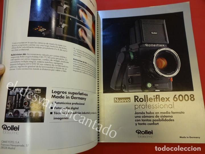 Cámara de fotos: Lote diversos catálogos ROLLEIFLEX. VER FOTOS - Foto 5 - 159076778