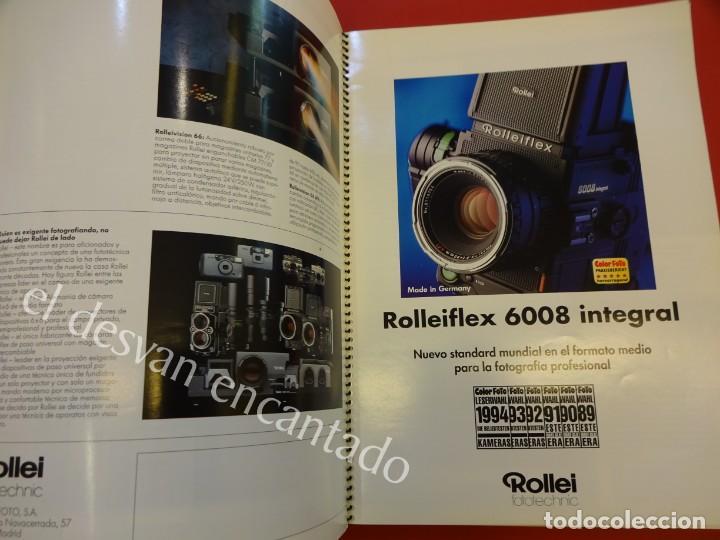Cámara de fotos: Lote diversos catálogos ROLLEIFLEX. VER FOTOS - Foto 7 - 159076778