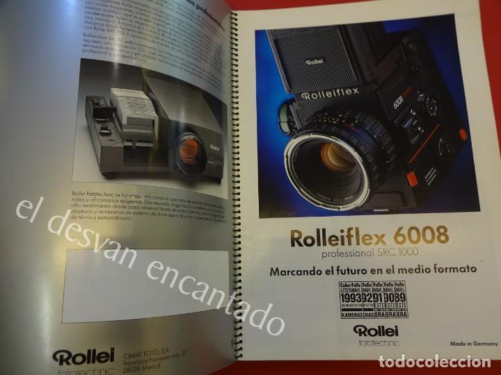 Cámara de fotos: Lote diversos catálogos ROLLEIFLEX. VER FOTOS - Foto 8 - 159076778