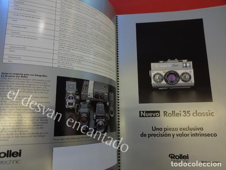 Cámara de fotos: Lote diversos catálogos ROLLEIFLEX. VER FOTOS - Foto 9 - 159076778