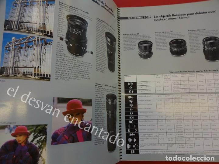 Cámara de fotos: Lote diversos catálogos ROLLEIFLEX. VER FOTOS - Foto 10 - 159076778