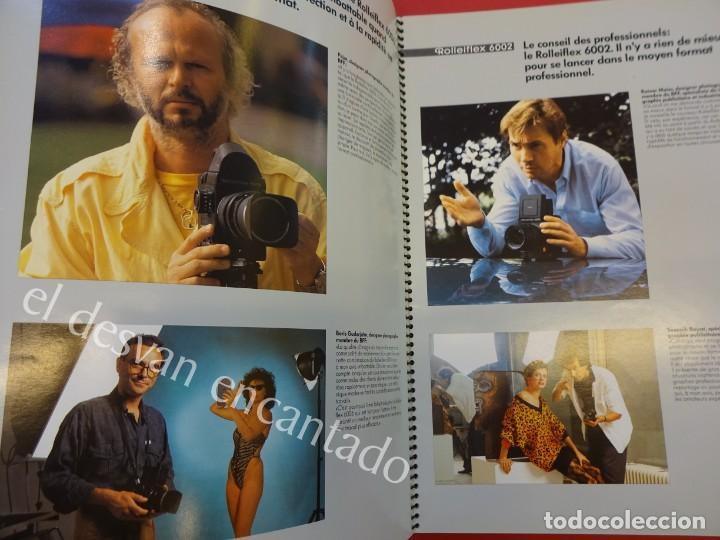 Cámara de fotos: Lote diversos catálogos ROLLEIFLEX. VER FOTOS - Foto 11 - 159076778