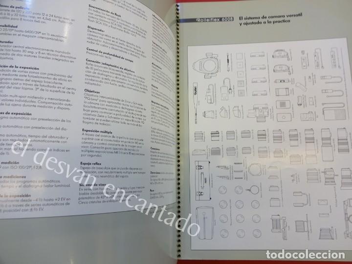 Cámara de fotos: Lote diversos catálogos ROLLEIFLEX. VER FOTOS - Foto 12 - 159076778
