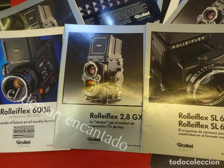 Cámara de fotos: Lote diversos catálogos ROLLEIFLEX. VER FOTOS - Foto 13 - 159076778