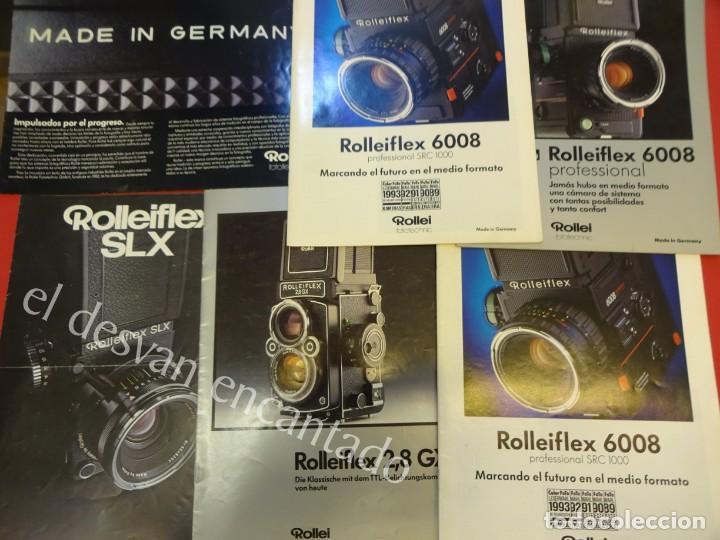 Cámara de fotos: Lote diversos catálogos ROLLEIFLEX. VER FOTOS - Foto 14 - 159076778