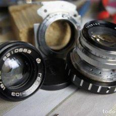 Cámara de fotos: ANILLO ADAPTADOR PARA OBJETIVOS ALEMANES CONTAX/KIEV. Lote 159388474
