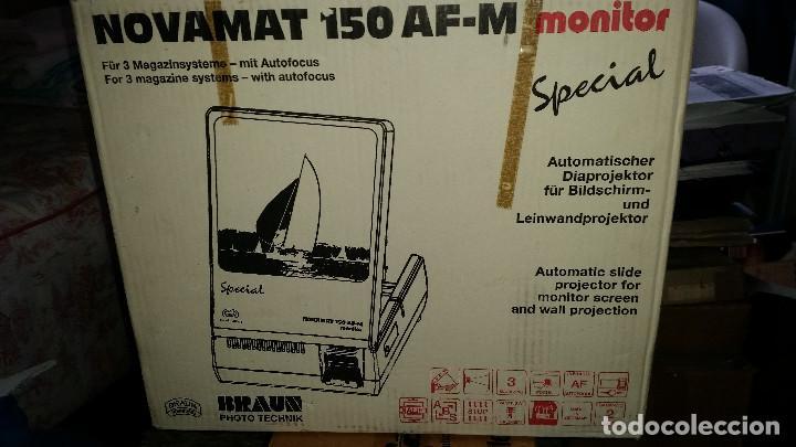 NOVAMAT 150 AF-M MONITOR EN CAJA (Cámaras Fotográficas - Visores Estereoscópicos)