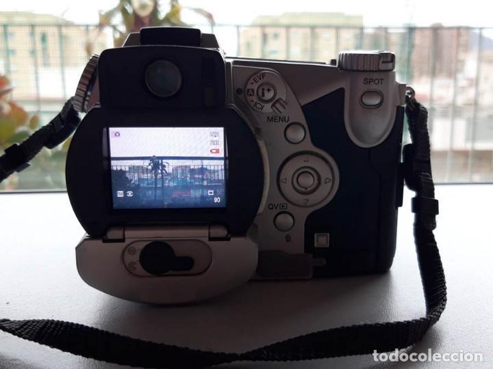 Cámara de fotos: Cámara Minolta 7i 5 MPX Megapixeles, funcionando. Incluye tarjeta de memoria - Foto 3 - 160575218