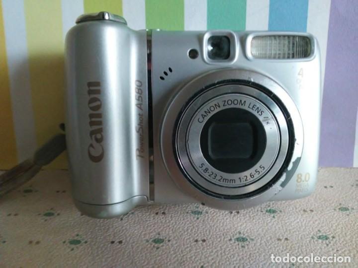CAMARA CANON POWER SHOT A580 (Cámaras Fotográficas - Otras)