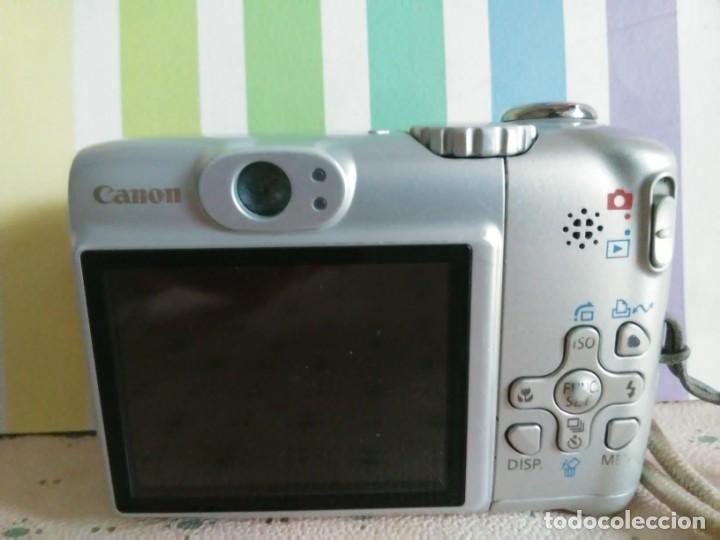 Cámara de fotos: Camara canon power shot A580 - Foto 2 - 160661554
