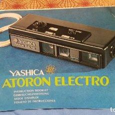 Cámara de fotos: YASHICA ATORON ELECTRO. Lote 160812806