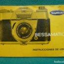 Cámara de fotos: MANUAL ORIGINAL DE LA VOIGLLANTDER BESSAMATIC, LA REFLEX ALEMANA..AÑOS 60.. Lote 160957746
