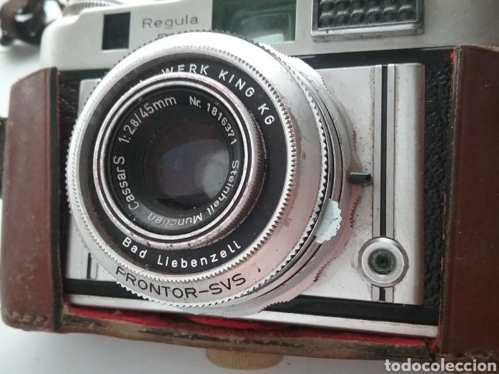 Cámara de fotos: Camara de fotos marca Regula RM con funda. - Foto 2 - 161217906