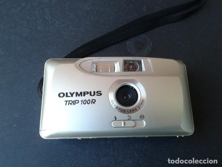 CAMARA FOTOGRAFICA OLYMPUS TRIP 100-R, 35 M/M (Cámaras Fotográficas - Otras)