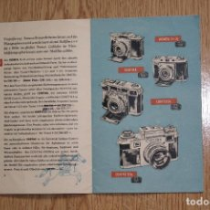 Cámara de fotos - Catálogo de la casa Zeiss Ikon. 16 Páginas incluidas Portadas - 162917162