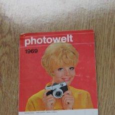 Cámara de fotos: MUNDO DE LA FOTOGRAFÍA. PHOTOWELT. AÑO 1969. Lote 162974662