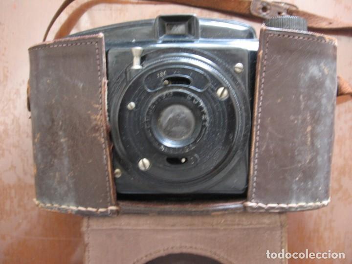 ANTIGUA CÁMARA DE FOTOS MARCA FOTEX CON FUNDA DE PIEL. (Cámaras Fotográficas - Otras)