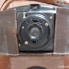 Cámara de fotos: ANTIGUA CÁMARA DE FOTOS MARCA FOTEX CON FUNDA DE PIEL.. Lote 163419566